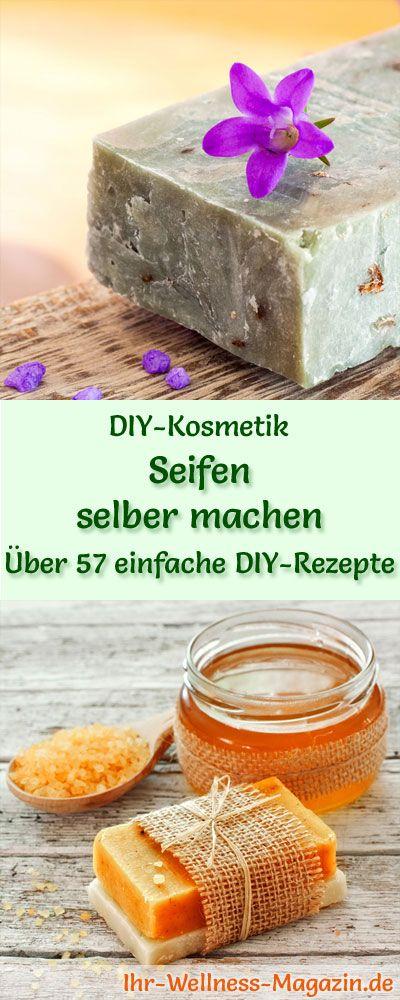 Seife selbst herstellen – 90 DIY-Rezepte und Anleitungen