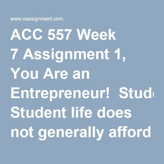assignment 7 week 7 View homework help - assignment 7docx from science sci 133 at american military university assignment 7 - week 7 due: jan 21, 2018 11:55 pm solve the.