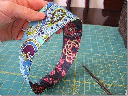 Reversible Headband Tutorial
