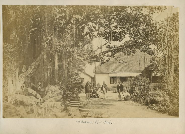 A British Administrators Bungalow Probably In Poona Photo From The 1870s Colonial StyleColonial IndiaIndian