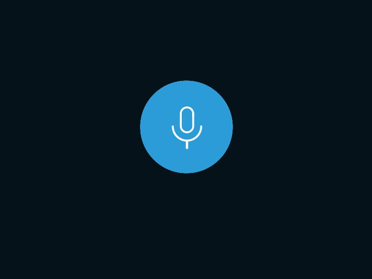 Voice UI Animation  Design MaterialUp