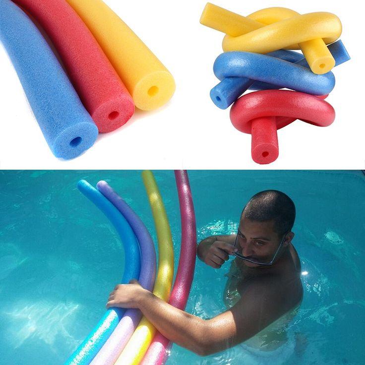 Praktyczne 6*150 cm Przenośne Pływający Basen Pływać Kickboard Wody Pływak Pomocy Woggle Makaron Noodle Hollow Dowiedz Się Pianki
