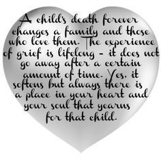 Image result for there is no words for a parent who loses a child