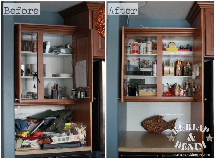 kitchen office organization. Before And After, Organizing | Cleaning Tips Pinterest Kitchen Office, Kitchens Office Organization I