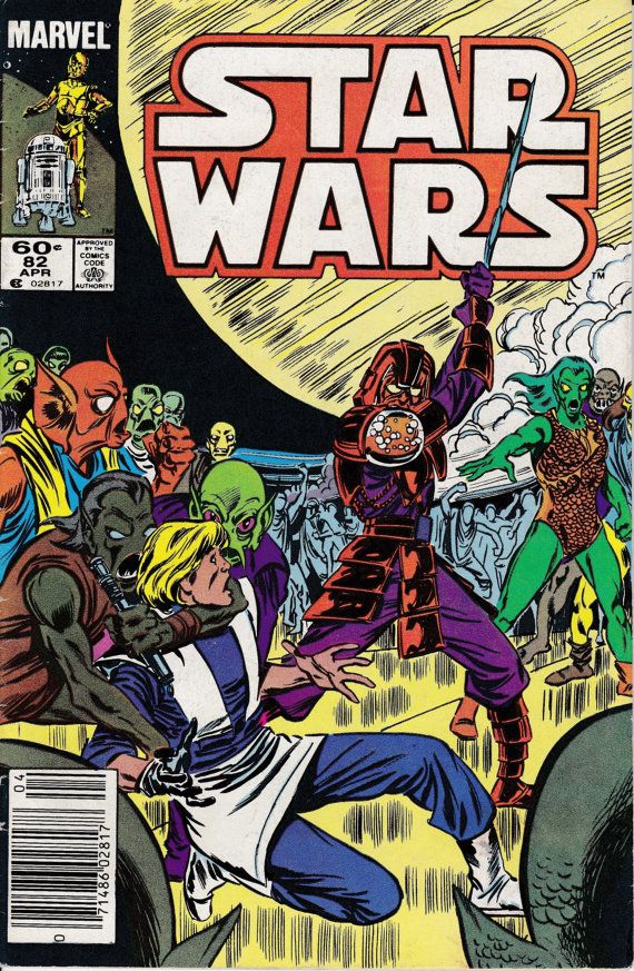Star Wars 1977 Marvel 82 April 1984 Issue  Marvel by ViewObscura