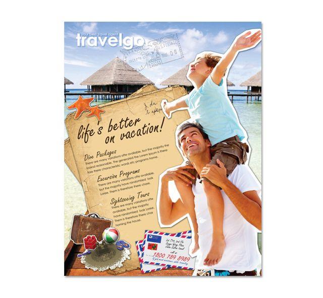 Travel Agency Flyer Template http://www.dlayouts.com/template/169/travel-agency-flyer-template