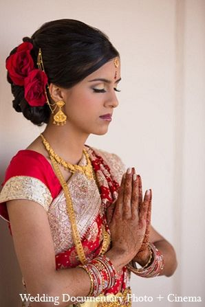 indian wedding portraits bride makeup hair http://maharaniweddings.com/gallery/photo/12885