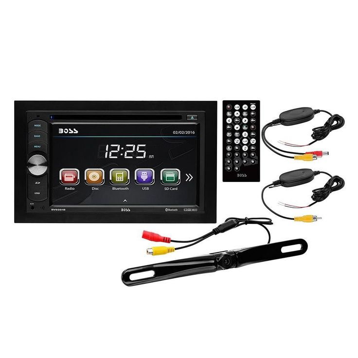 Boss Audio Systems 6.2 Screen, Bluetooth, DVD-CD-MP3 Am-FM Receiver