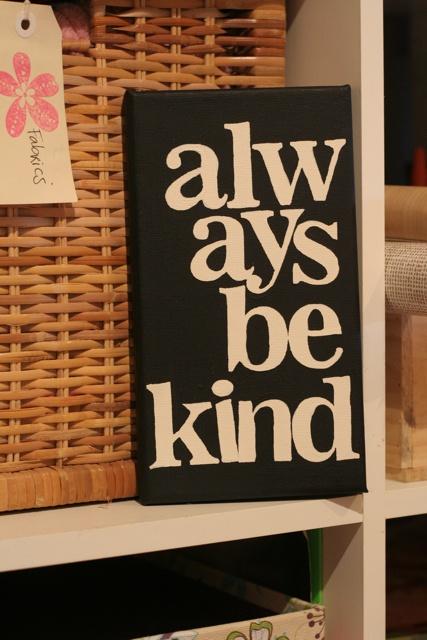 Using old Heidi Swap alphabet masks to create a mini quote canvas! As seen on the Etzcetera Magazine blog.