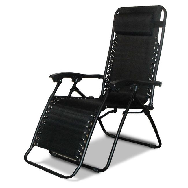 The Caravan Sports Infinity Zero Gravity Chair offers the ultimate portable comfort for any camping rip, tailgate, barbecue or outdoor occasion. With an additional 5.3-inches of width, this over sized chair provides much more space to stretch out.