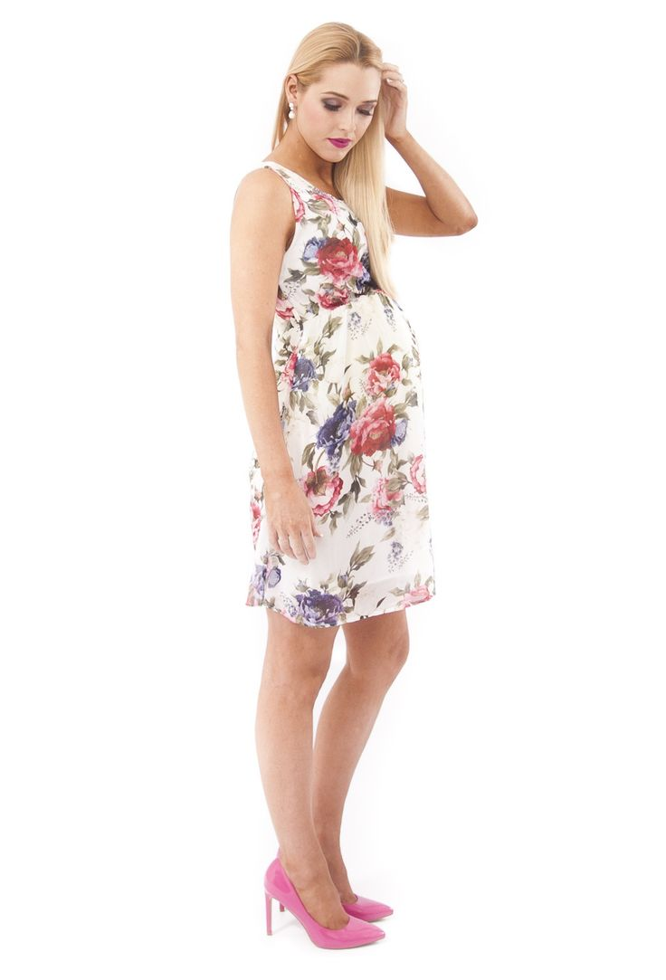 Ava Floral Maternity Dress