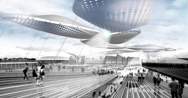 Clouds, an architectural marvel to enliven 2014 Winter Olympics
