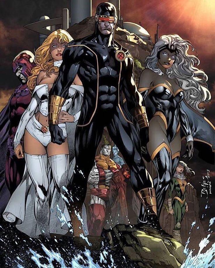 Cyclops & The X-Men - Ed Benes
