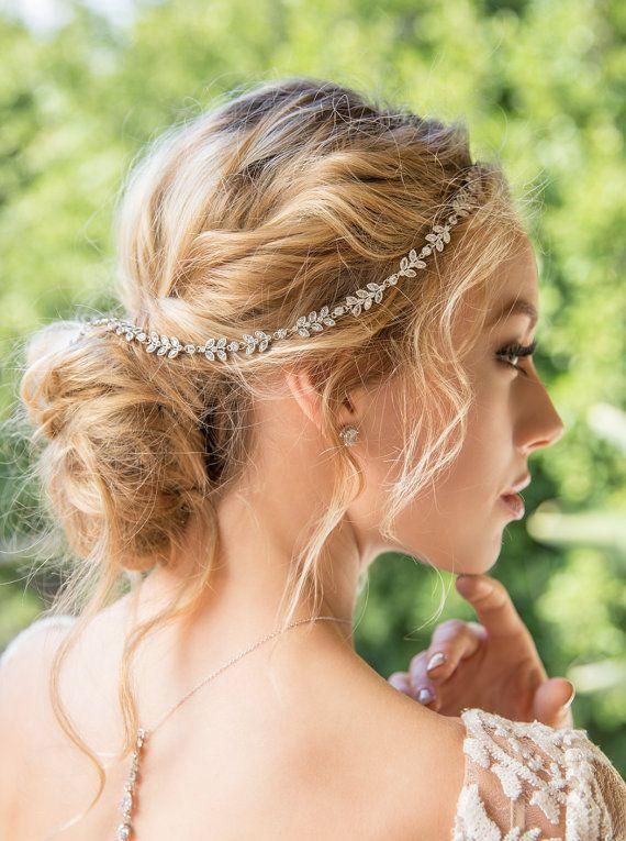 H239WL Bohemian Wedding Hair Accessory Bridal by AMYOBridal