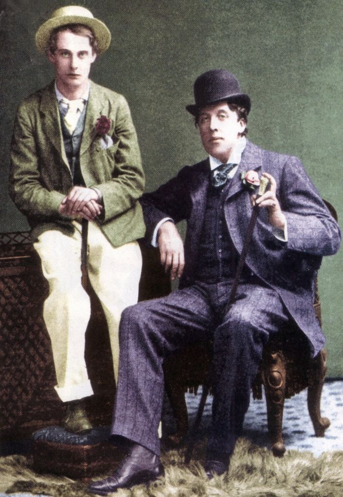 "Lord Alfred ""Bosie"" Douglas and Oscar Wilde"