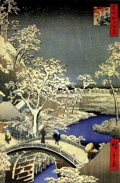 Utagawa Hiroshige (Japanese: 歌川 広重), also Andō Hiroshige (Japanese: 安藤 広重; 1797 – 12 October 1858)                                                                                                                                                                                 Plus