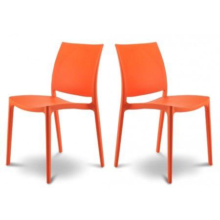 Lot de 2 chaises design Tessa 119 €