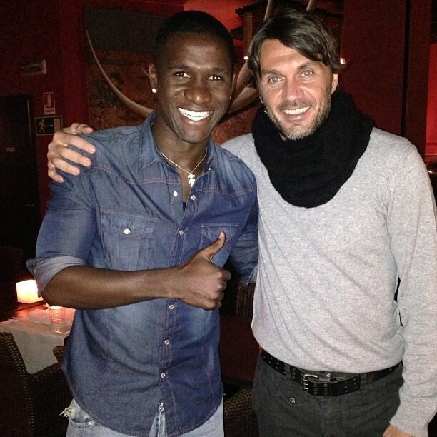 Zapata with Grande Maldini !