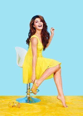 Jacqueline Fernandez in Yellow.