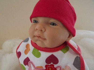 "RHIANNE GIRL GiLF 20"" (51cm) 6lb-7lb (3kg) Blue Eyed Newborn Reborn Baby Doll Girls Birthday Christmas Gift UK Seller made by Saxon Reborns Fast and Free Post"