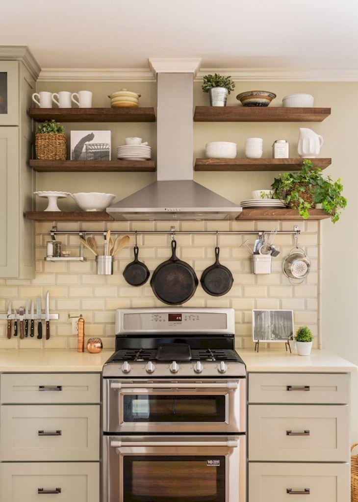 Small kitchen design & organization ideas (52)