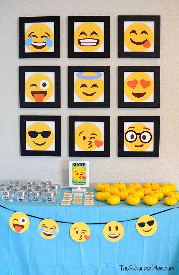 Emoji Party Decorations Emoji Birthday Party Emoji Party Favors Emoji Decorations