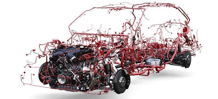 Lo creas, o no, este es el cableado eléctrico del Bentley Bentayga - Diariomotor