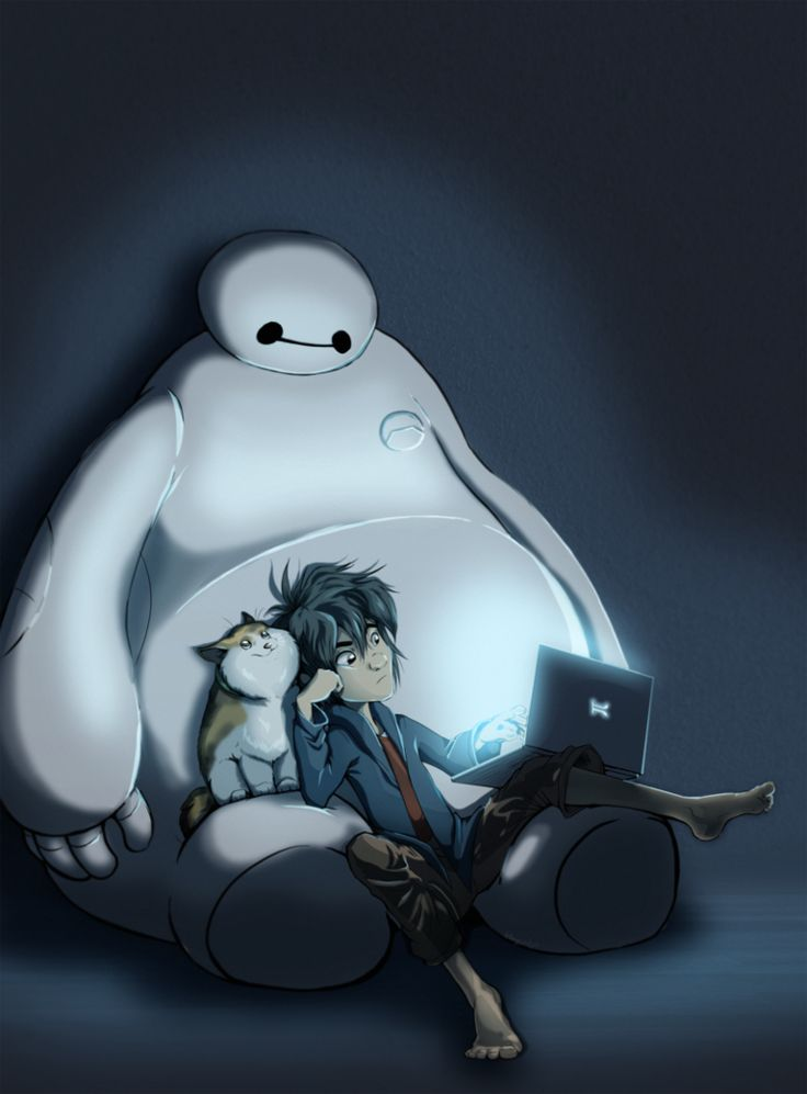 Big Hero 6 :: late night studying by wildernessspirits on deviantART