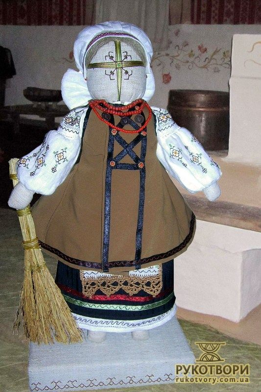 Cloth doll, Victoria Fil'