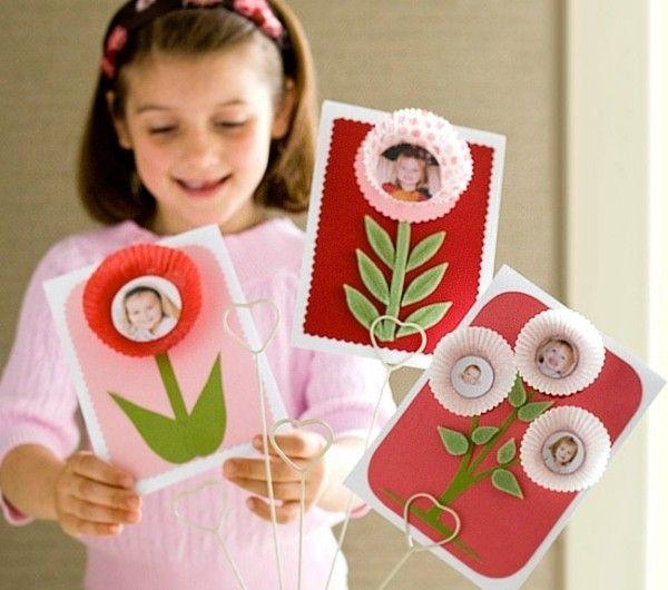 Muttertagsgeschenke basteln – 37 Ideen – Archzine.net