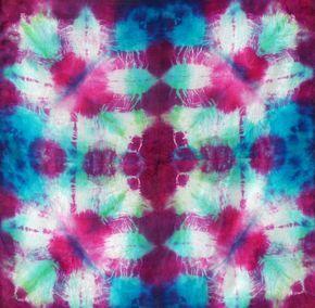 Curso de teñido en seda para arte textil con microondas