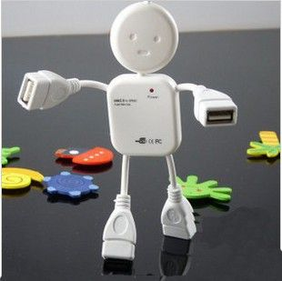Humanoid Design 4-Port USB Hub