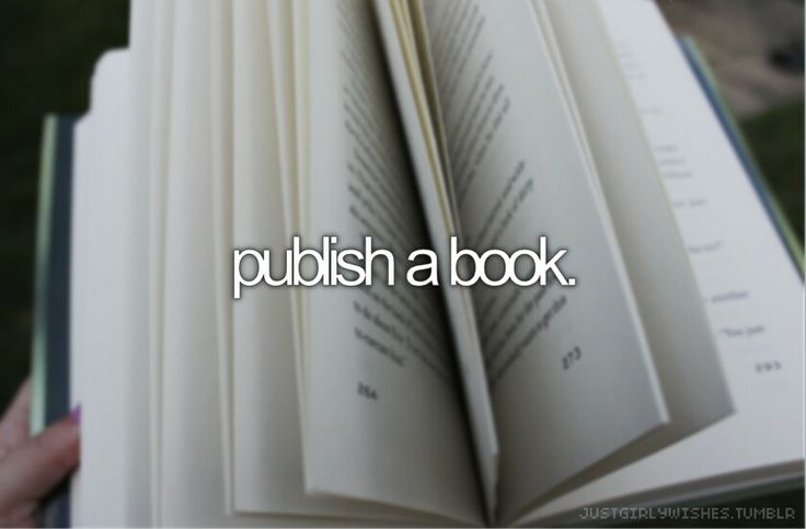 publish a book