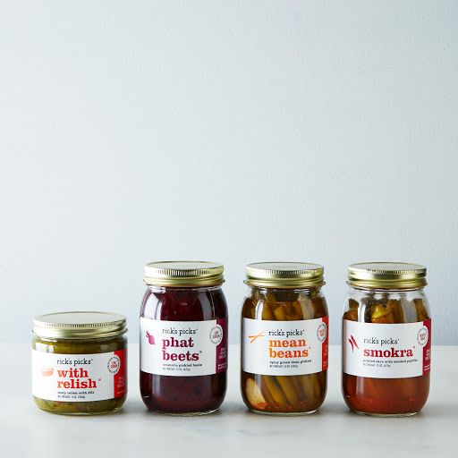 Pickled Green Beans, Okra, Beets, and Relish on Food52
