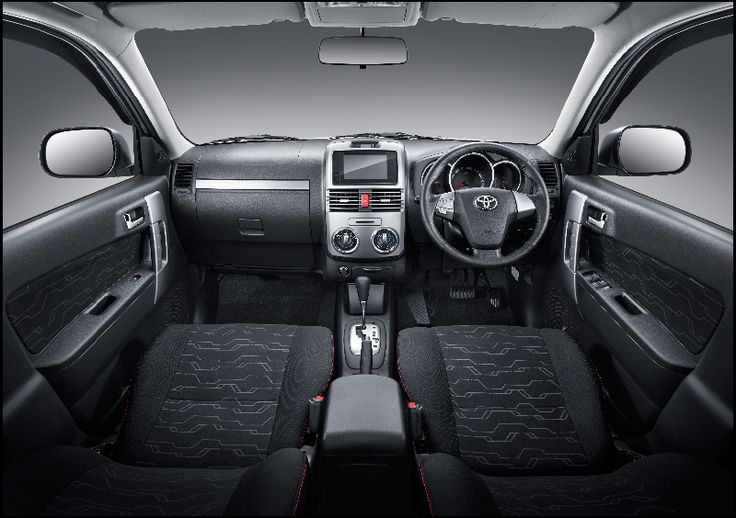 New Rush TRD Sportivo Interior