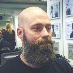 bald and bearded guy