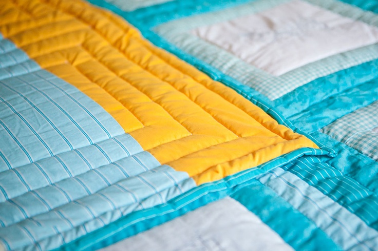 Embroidered Patchwork Handmade Quilt