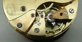 """Prototyp einer Glashütter Taschenuhr """"Oliw"""" mit Spiralfeder -Hemmung #pocketwatch #glashuette #taschenuhr"""