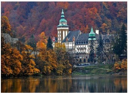 Lillafured, Hungary - I'd like to do a European Castle tour...likely by train not by backpack lol