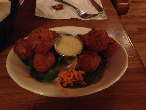 Irish Cannonballs (Reuben Fritters) @ Kitty Hoynes