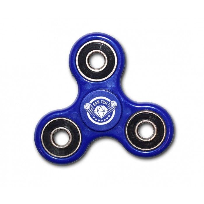DanTDM Fidget Spinner Blue (Pre-Order)