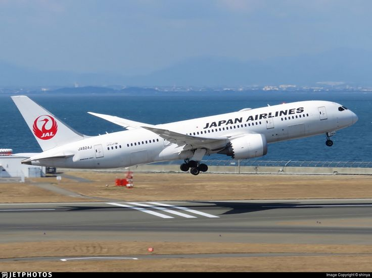 Photo of JA824J - Boeing 787-8 Dreamliner - Japan Airlines (JAL)