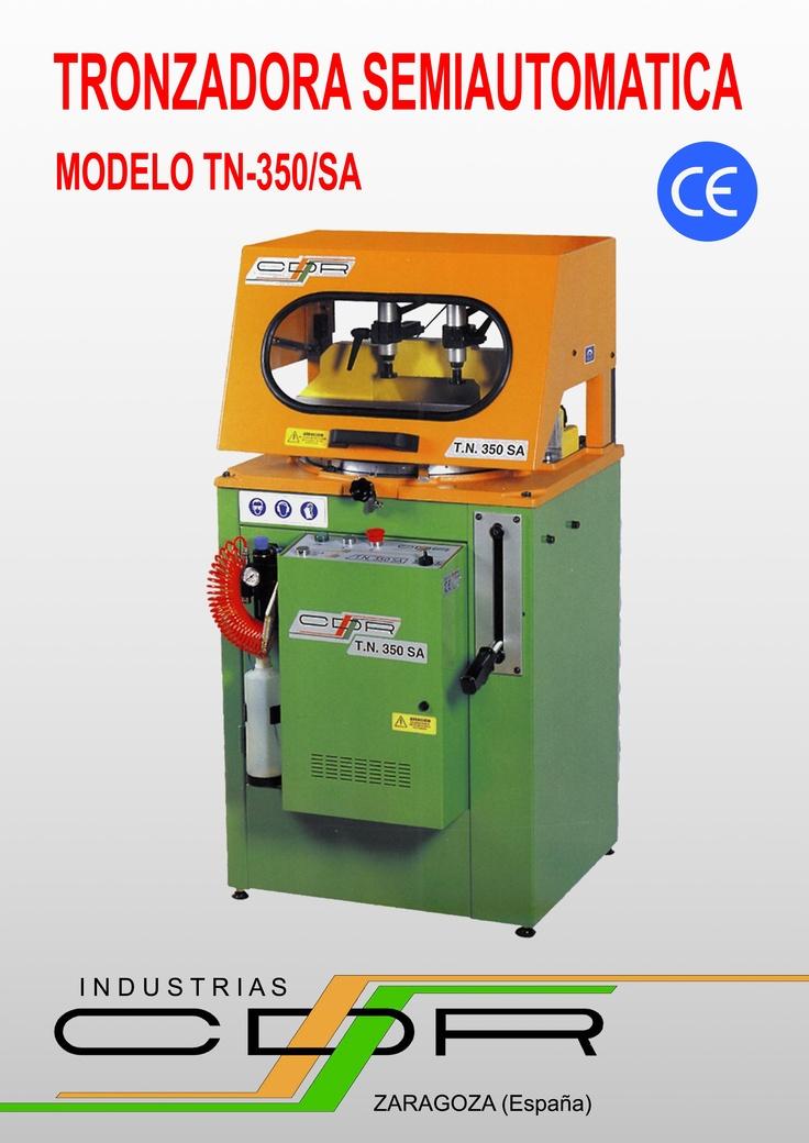 Tronzadora Semiautomatica Modelo TN-350/SA