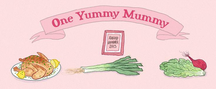 Thick Chicken and veg soup - One Yummy Mummy