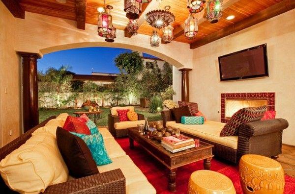 die 25 besten ideen zu marokkanische wohnzimmer auf