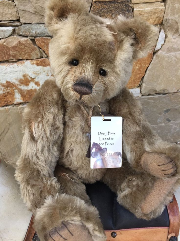 Dusty Paws Charlie Bears Isabelle Lee Collection Mohair Bear
