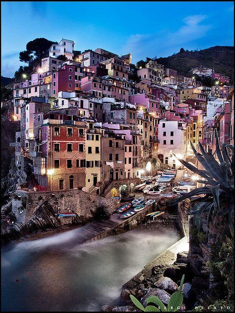 Riomaggiore - Cinque Terre - Italy.