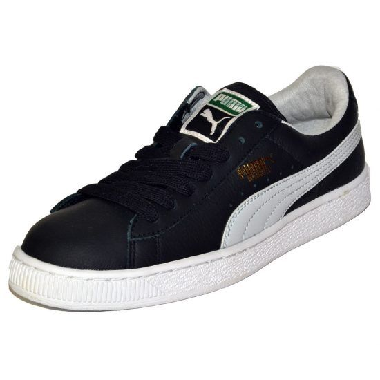 PUMA BASKET CLASSIC LFS BLACK MEN'S SHOES SNEAKERS #puma #sneakers
