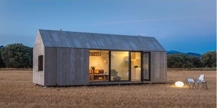 Prefab modern barn homes