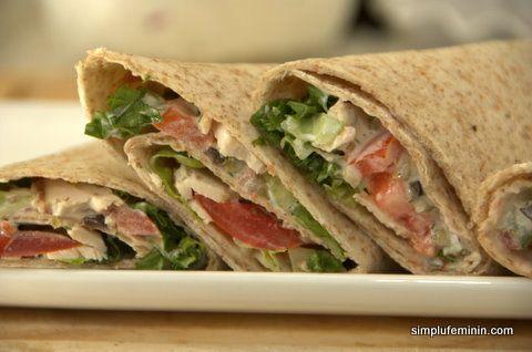 Chicken wraps - tortilla cu pui | Simplu Feminin